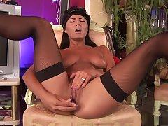 Hottest pornstar in horny brazilian dildostoys xxx scene
