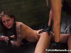 Exotic pornstars Marina Angel, Kendra Cole in Best Femdom, Tattoos xxx clip
