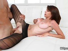 Fabulous pornstars Sean Lawless, CeCe Capella in Amazing College, Cumshots porn video