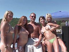 Fabulous pornstar in exotic blonde, amateur porn video