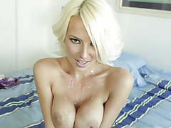 Homemade with a sexy blonde