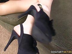 Chastity Lynn BBC Foot Fetish