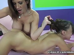 Crazy pornstars Sara Jay, Victoria Rae Black, Farrah Flower in Fabulous Fingering, Big Tits adult video